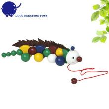 Crianças Bom amigo Anole madeira puxando brinquedo para crianças