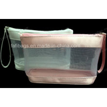 Clear PVC Zipper Cosmetic Bag for Packing