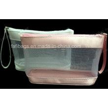 Sac à cosmétiques PVC transparent pour emballage
