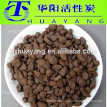 Filtro de arena de manganeso con malla 16-32 para retirar el hierro del agua