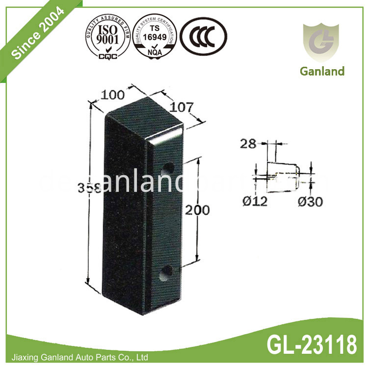 Heavy-duty rubber buffer GL-23118