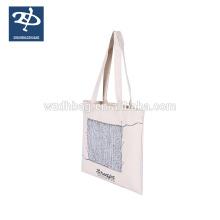 Femmes de haute qualité toile sac toile fabrication de tissus