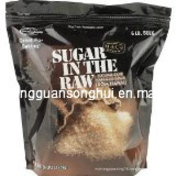 Plastic Candy Packaging Bag/ Brown Sugar Bag/ Raw Sugar Bag/ Natural Cane Sugar Bag