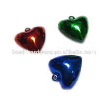 Мода Высокое качество Металл Сердце Shaped колокола