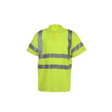 High Visibility Reflective Safety Work T-Shirt with Canada Market