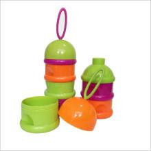 3 couches Bébé nourrisson alimentaire en poudre en poudre Conteneur