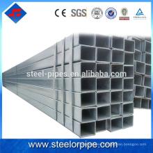 Nuevos productos innovadores 2016 tubo de acero galvanizado de peso ligero