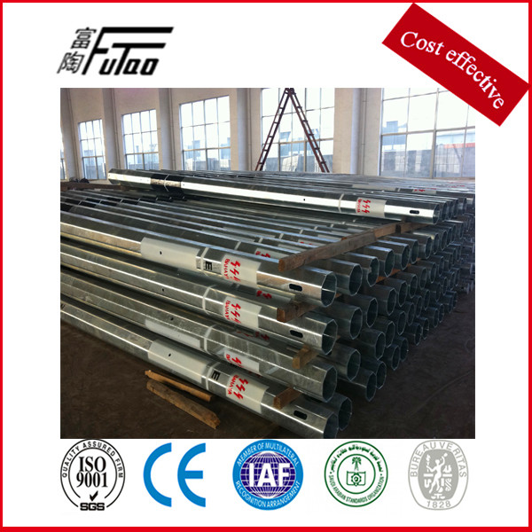 Electric Steel Power Distribution Pole