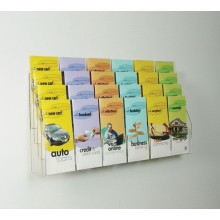 Wall Mount Multi-Grid Acrylic Sign Holders
