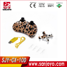 New Toy CX-10D Colorful mini Smart Q drone 2.4G remote control cheerson mini drone SJY-CX-10D
