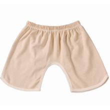 Venda quente de verão algodão orgânico bebê calças curtas