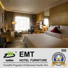 Mobília de quarto de madeira Suite de quarto de hotel (EMT-HTB05-1)