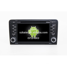 Quad core!car dvd with mirror link/DVR/TPMS/OBD2 for 7inch touch screen quad core 4.4 Android system A3