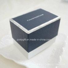 Caja personalizada del regalo del embalaje del reloj del logotipo