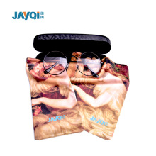 1 Color Logo Microfiber Glasses Bag
