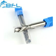 BFL Carbide Up & Down Две спиральные фрезы, 2 концевых фрезы для дерева