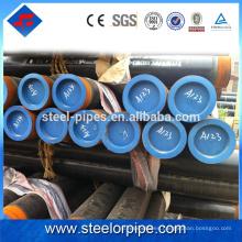 Nuevos productos vendidos calientes tubería de acero sin costura de carbono galvanizado