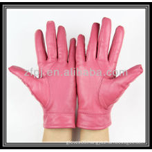 leather glove in european size