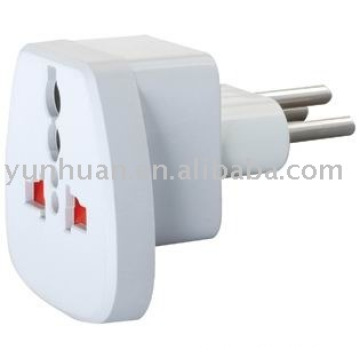 UK to Switzerland 3-prong Adapter eu to uk conversion travel universal adaptor socket