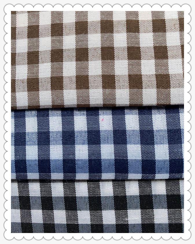 Polyester Plaid Fabric