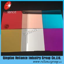 5mm farbiger Spiegel / 3mm Aluminium Spiegel für dekorative verwendet