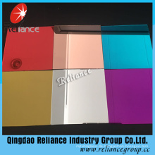 5mm Bronze / Gelb / Rosa / Blau Farbe Aluminium Spiegel