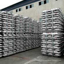 Vente chaude 99.7% Lingot d'aluminium