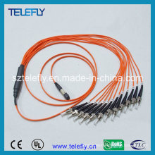 MPO-St cable de cable de remiendo