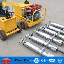Máquina de corte de rocha diesel / máquina de corte de pedra