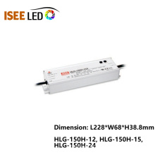 Fuente de alimentación HLG-150H Meanwell Waterproof LED