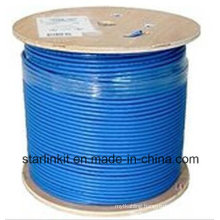 High End CAT6A UTP LAN Cable 10 Gigabit Blue