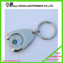 Supermarket Shopping Cart Trolley Coin Keychain (EP-K7896)