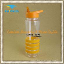 Pared simple botella de agua de plástico Tritan para promoción