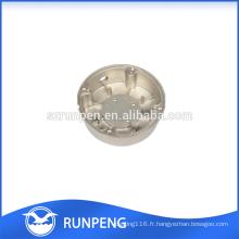 Accessoires de logement de LED de moulage mécanique sous pression en aluminium de précision