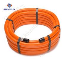 Tuyau de compresseur d'air en spirale portable en PVC de 300 psi
