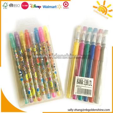 Gel Pens In PVC Bag