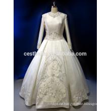 Stock Hersteller China Mittlerer Osten Dubai Hochzeit Maxi Kleid Elegant Muslim Lange