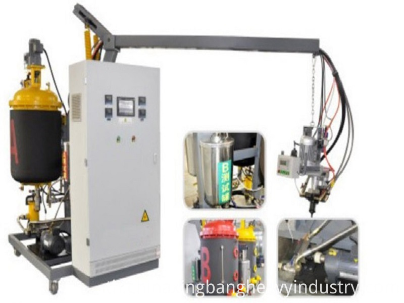 Photos of low pressure pu machine