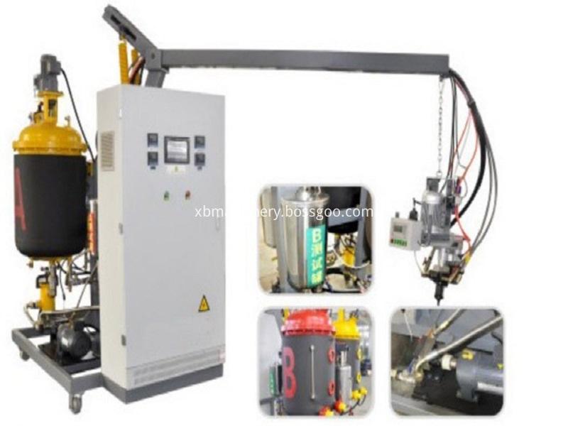 Photos of low pressure pu machine