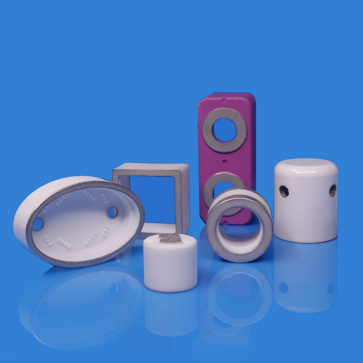 Ceramic Components With Metallization