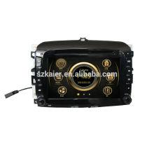8-Zoll-Auto-DVD-Player für Fiat 500 mit GPS, TV, Bluetooth, 3G, iPod, PIP, Spiele, Dual Zone, Lenkradsteuerung