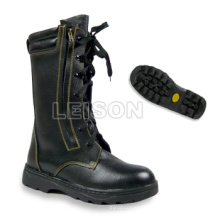 Fhx-02-1 Fire Fighting Boots Adopting Cowhide Leather