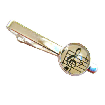 Clef+Tie+Clip+Perfect+for+Music+Lover+Gift