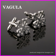 VAGULA Quality Metal Silver Cuff Links (HL10123)