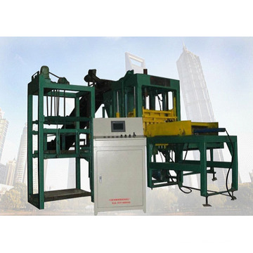 Машина для производства блоков из цемента (Qt3-15)