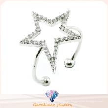 Venta al por mayor de China Joyería al por mayor de joyería de moda 925 anillo de joyería de plata de ley (R10371)
