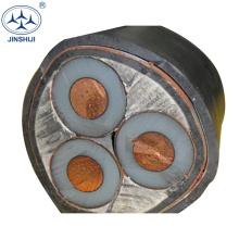 Esforço ambiental de alta resistência padrão do CE que protege o preço do xlpe do cabo 33kv