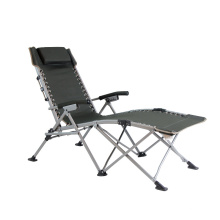 New design outdoor folding camp chair steel tube frame folding easy lounge chair