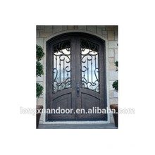 Wrought Iron Entrance Door