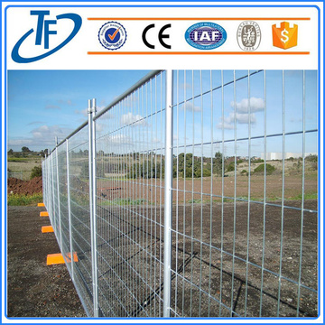 Hot Dip Galvanized Metal Temporary fence